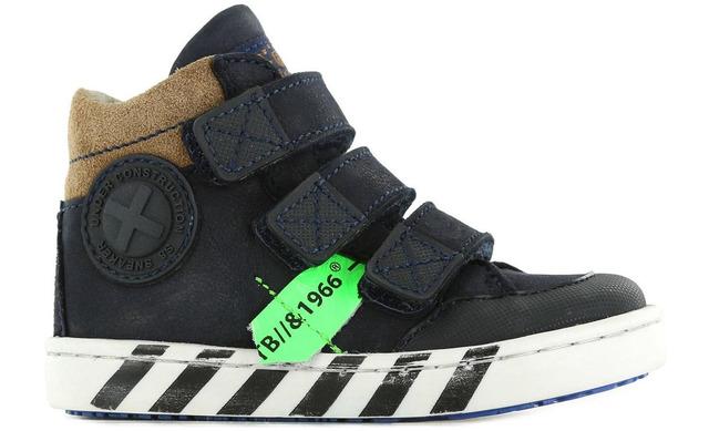 Shoesme Klittenbandschoen - Ur21w043-b Blauw Jongens - Shoesme
