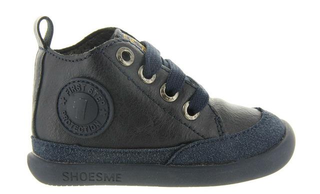 Shoesme Veterschoenen - Blauw Unisex - Shoesme