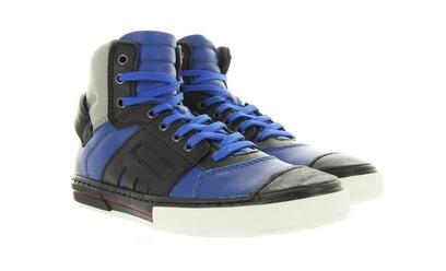 Hip Sneakers - H1388 Blauw Jongens - Hip