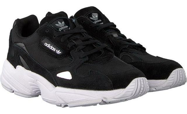 Adidas Falcon W - Zwart Dames - Adidas Originals
