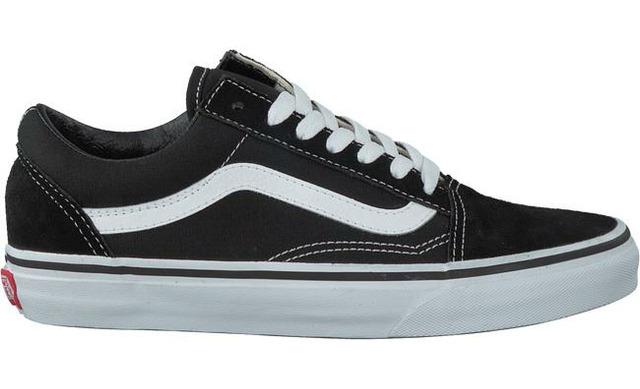 Vans Old Skool Sneaker - Black/thrue White - Vans