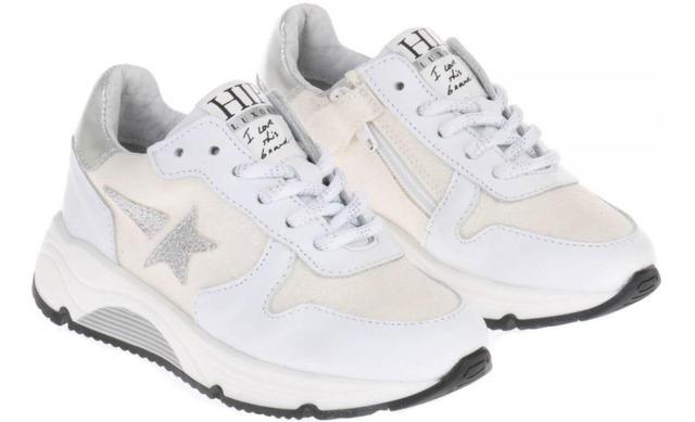 Hip Sneakers - H1211 Meisjes Wit - Hip