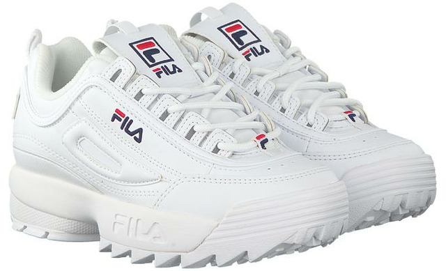 Fila Disruptor - Low Women White - Fila