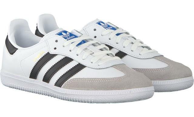 Adidas Sneakers - Samba Wit Unisex - Adidas Originals