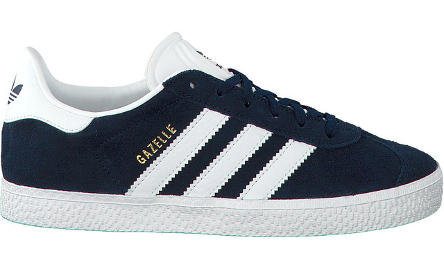 Blauwe Adidas Sneakers - Gazelle - Adidas Originals
