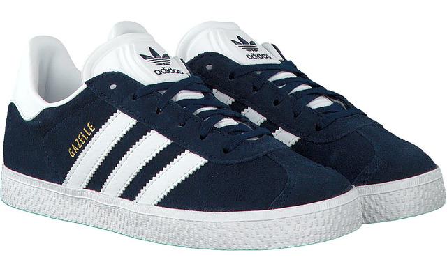 Blauwe Adidas Sneakers - Gazelle Uni - Adidas Originals
