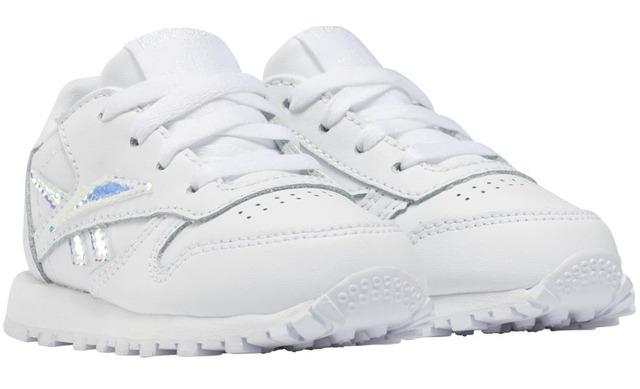 Reebok Sneakers - Wit - Zilver Meisjes - Reebok