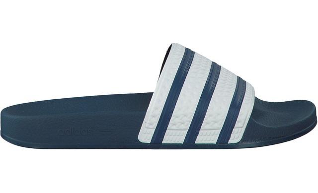 Adidas Adilette Slippers - G16220 Blauw Uni - Adidas Originals