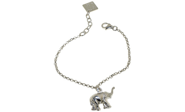 Zilveren Armbandje - Olifant - Maxime Label