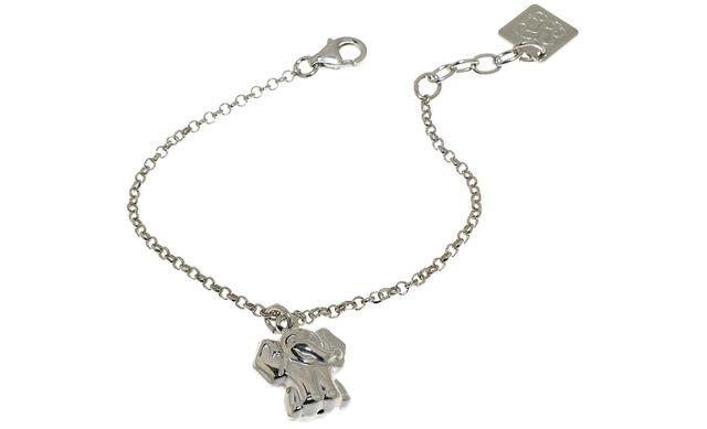 Zilveren Armbandje - Olifantje - Maxime Label