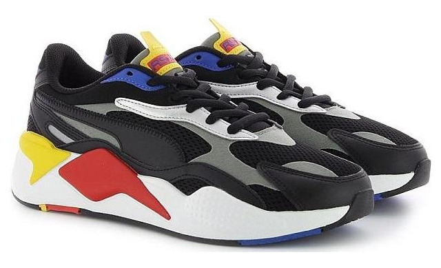 Rs-x3 Millenium - 373236 Black / Hi Risk Uni - Puma