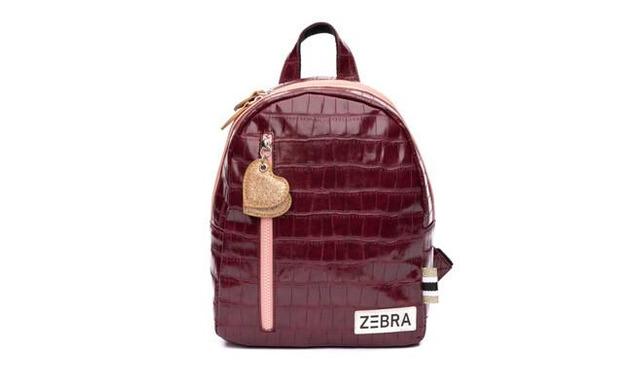 Zebra Rugtas - Croco Red & Pink - Zebra