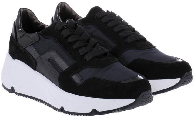 Hip Donna Sneakers - D1977 Zwart - Hip Donna