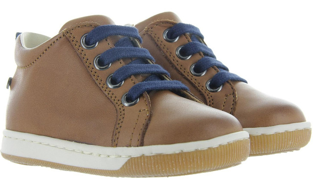 Falcotto Veterschoenen - Haley Cognac Uni - Falcotto By Naturino