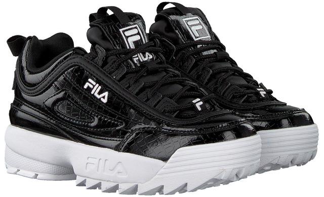 Fila Sneaker - Disruptor Zwart Lak - Fila