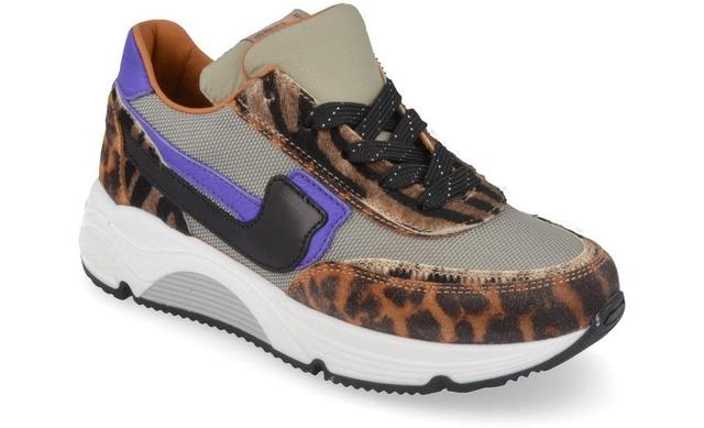 Rondinella Sneakers - 11173 Leopard Meisjes - Rondinella