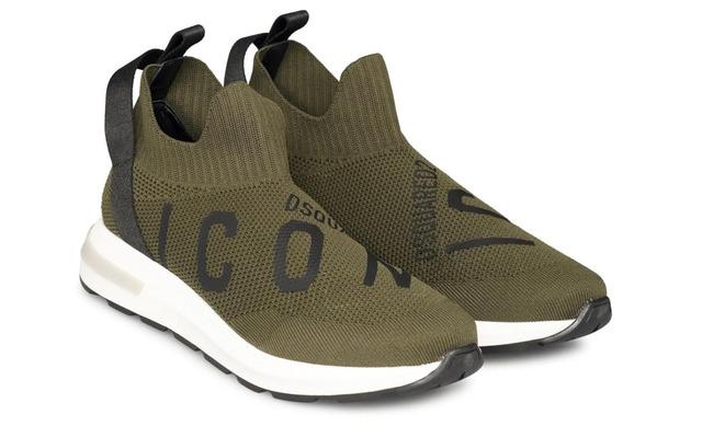 Dsquared2 Sok Sneaker - 64971 Groen Unisex - Dsquared2