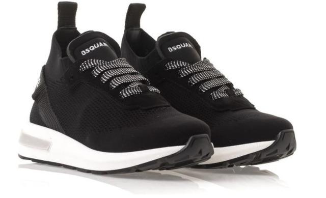 Dsquared2 Sok Sneaker - 65119 Zwart Unisex - Dsquared2