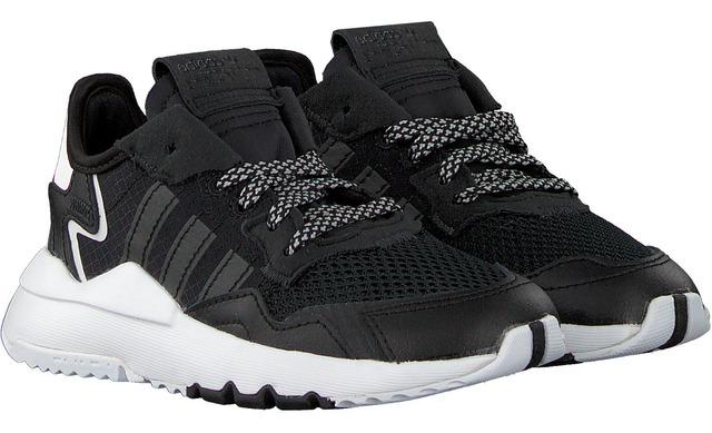 Adidas Nite Jogger C - Zwart Jongens C - Adidas Originals