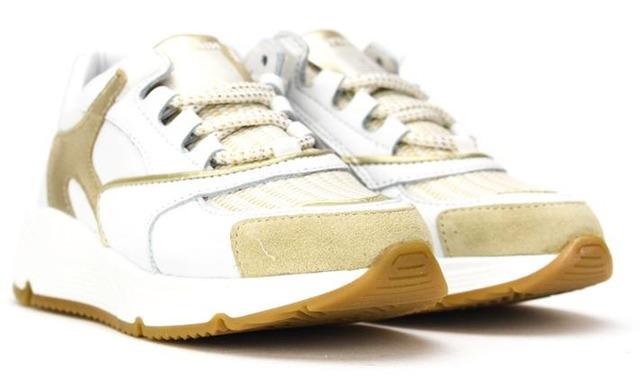 Hip Sneakers - Chunky Wit Met Goud - Hip