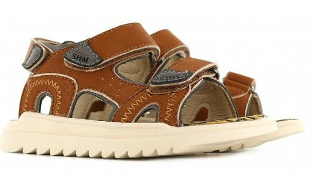 Shoesme Sneakers - Ah21s001-a Green Black - Shoesme