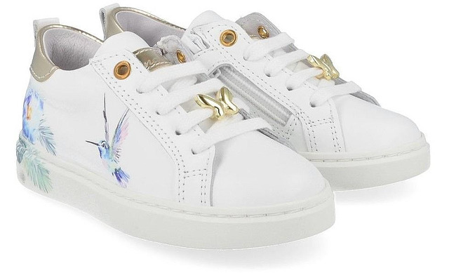 Bana Co Sneakers - 21134030 Wit Meisjes - Bana & Co