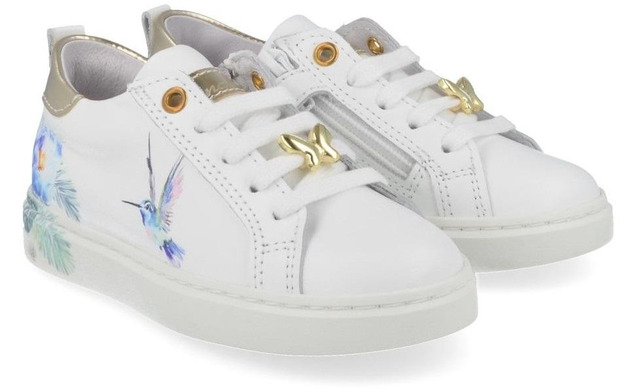 Bana Co Sneakers - 21134025 Wit Meisjes - Bana & Co