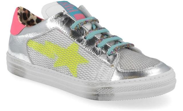 Rondinella Sneakers - 11731e Zilver Meisjes - Rondinella