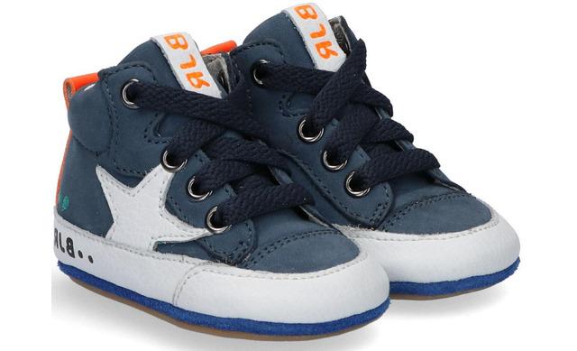 Bunnies Jr Baby Sneakers - Zilke Zacht Blauw - Bunnies Jr.