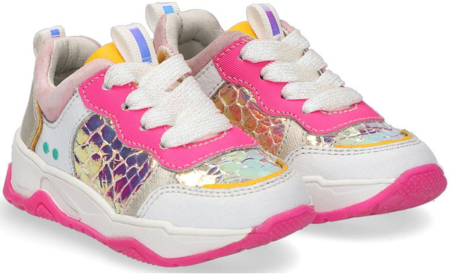 Bunnies Charly Chunky - Sneakers White-pink - Bunnies Jr.