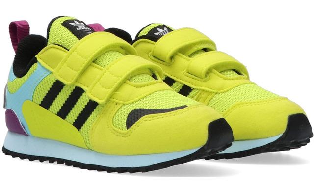 Adidas Klittenband Sneakers - Zx700 Hd Cf I Geel Jongens - Adidas Originals