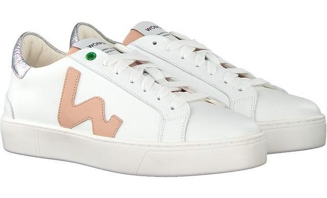 Womsh Sneaker - Snik White Rose - Womsh