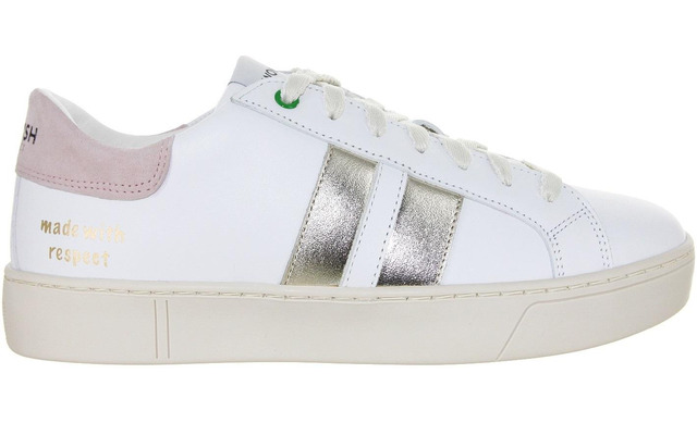 Womsh Sneaker - Kingston White Metallic - Womsh