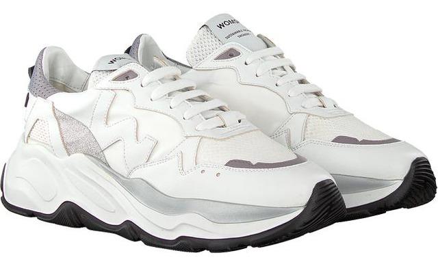 Womsh Sneaker - White Grey - Womsh