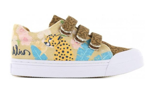 Go Banana's Sneaker - Klittenband Leopardo - Go Banana's