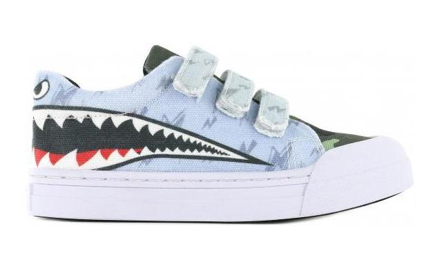 Go Banana's Sneaker - Klittenband Sharkattack - Go Banana's