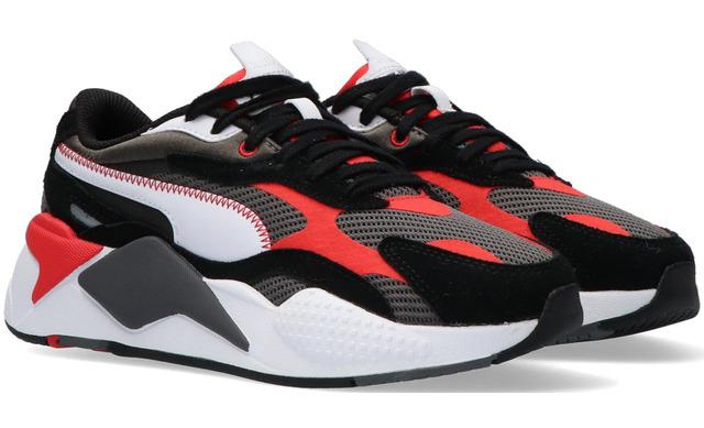 Puma Rsx Twill Airmesh - Poppy Red Jongens Jr - Puma