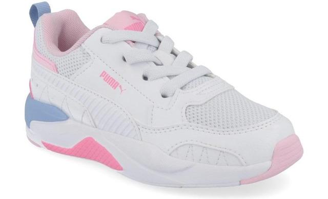 Puma Xray 2 Square - White-pink Blue Inf - Puma