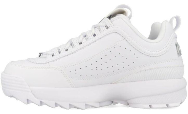 Fila Disruptor - Low Women White-silver - Fila