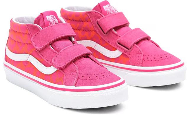 Vans Sk8 Neon Animal - Leopard Pink Meisjes - Vans