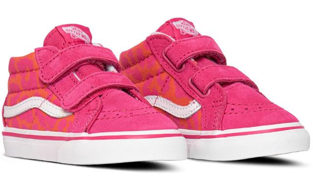 Vans Sk8 Neon Animal - Leopard Pink Meisjes Inf - Vans