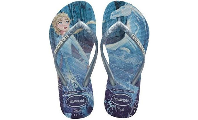 Havaianas Slippers Frozen - Slim Frozen Blauw - Havaianas