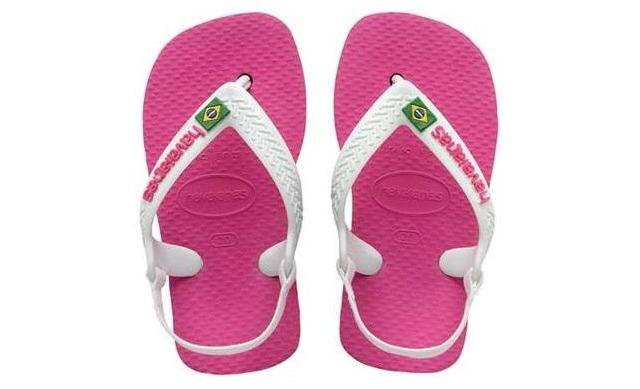 Havaianas Slippers - Baby Brasil Logo - Havaianas
