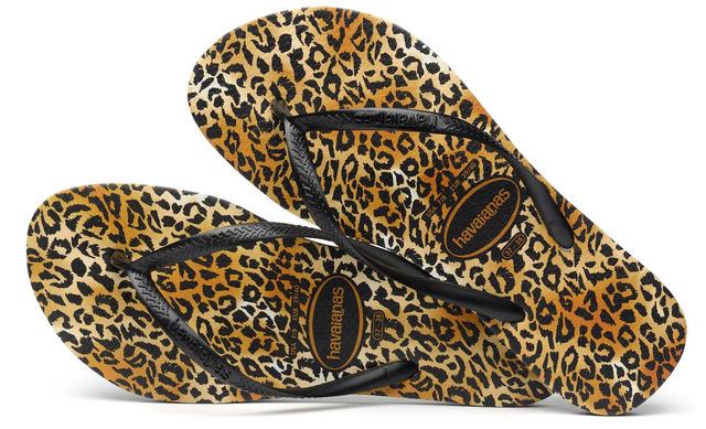 Havianas Slippers - Slim Leopard - Havaianas