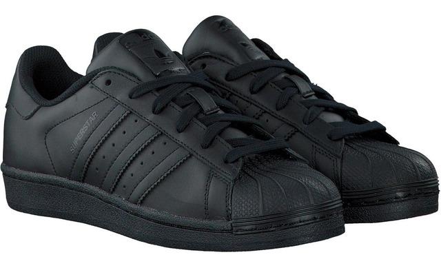 Adidas Superstar - Black/black Uniseks - Adidas Originals