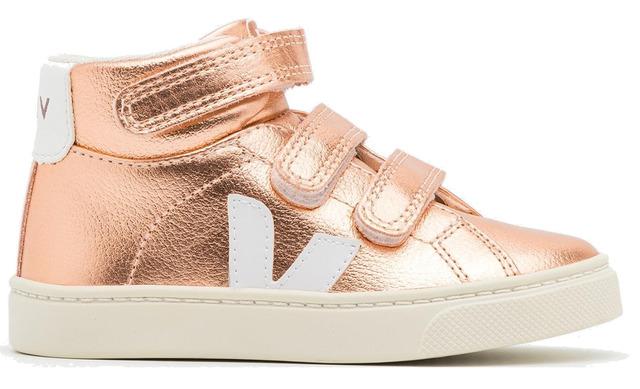 Veja V-10 Mid Sneaker - Esplar Venus White-gold  Mv0512378c340 - Veja