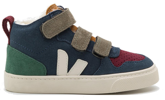 Veja V-10 Mid Sneaker - Multico- Nautico- Cypres - Veja