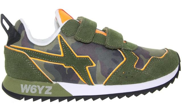 W6yz Sneaker - Jet-vl Camouflage - Militaire Jongens - W6yz