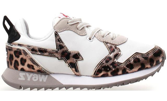 W6yz Sneaker - Jet-j White - Leo Meisjes - W6yz