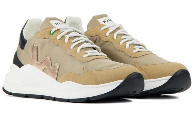 Womsh Vegan Sneakers - Wave Golden Beige - Womsh